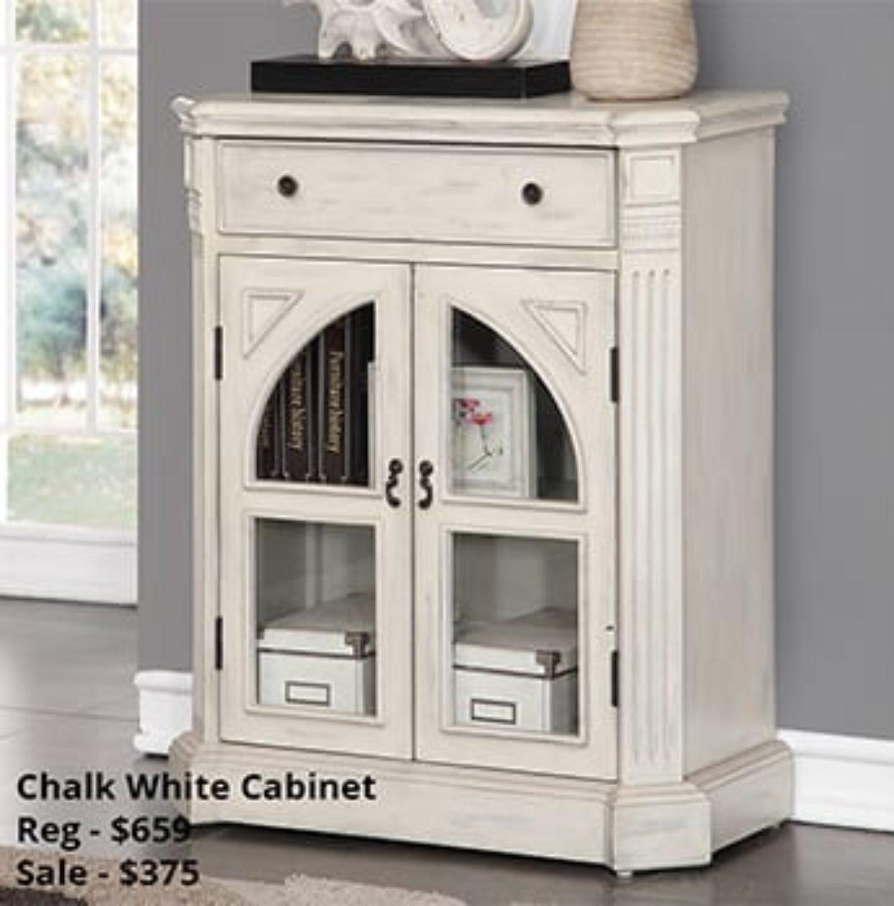 Chalk white cabinet