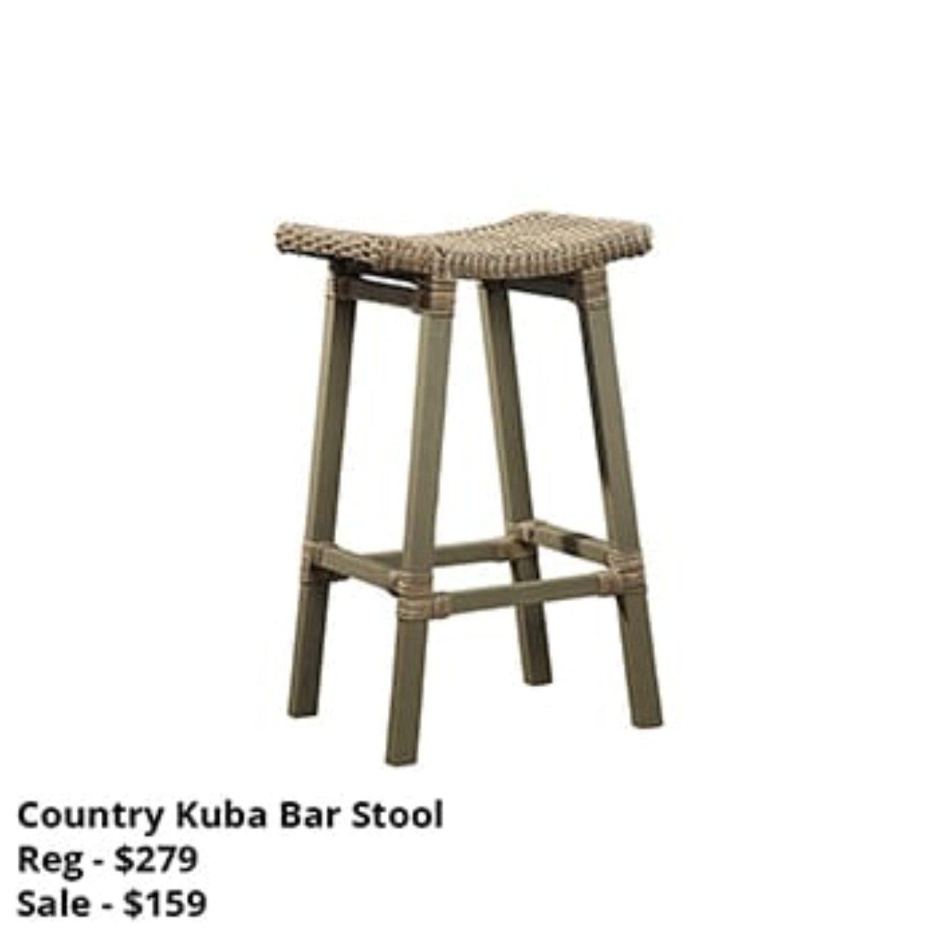 Country Kuba Bar Stool