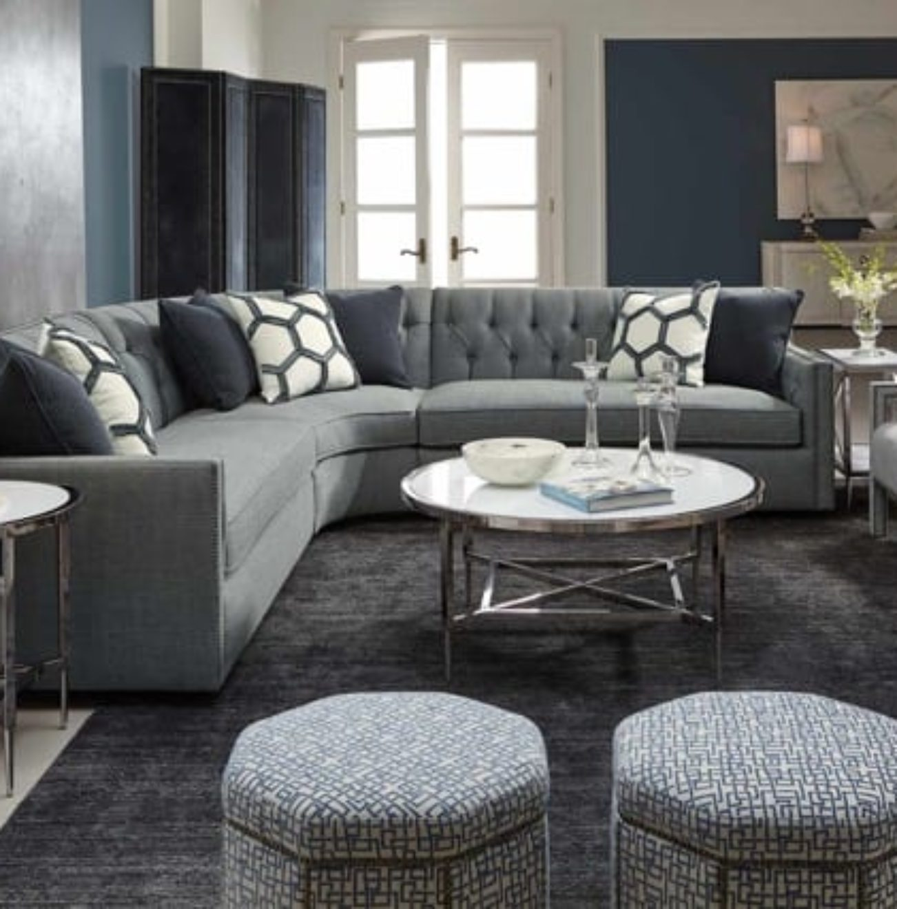 Bernhardt candace sectional