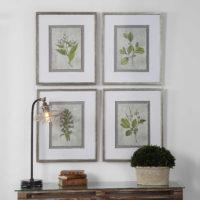 Stem Study Framed Prints – $265.00/set of 4