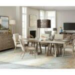 Hooker - Affinity Rectangle Pedestal Table