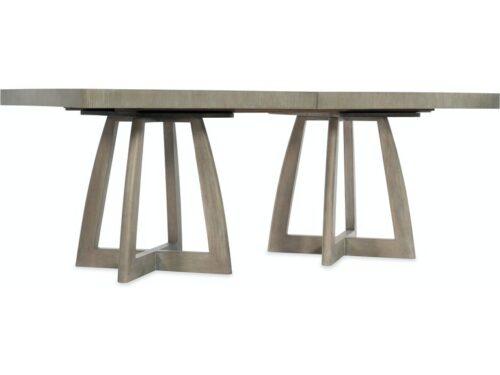 Hooker Furniture - Affinity Rectangle Pedestal Table