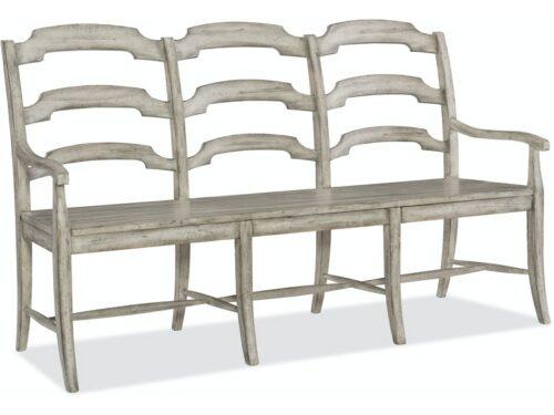 Hooker - Boheme Du Monde Ladderback Dining Bench