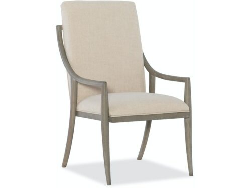 Hooker - Affinity Slope Side Arm Chair for Dining